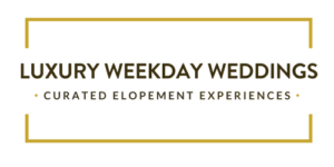 Luxury Weedkday Weddings - Curated Elopement Experiences